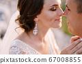 Fine-art destination wedding photo in Montenegro, Mount Lovchen. 67008855