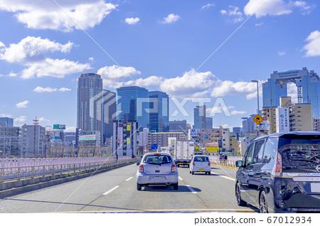 오사카 시내 교통 이미지 十三大橋 67012934