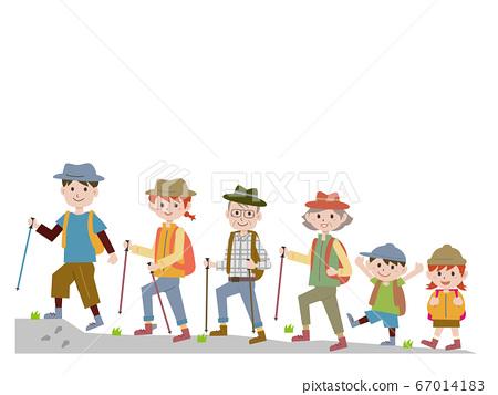 登山與家人 67014183