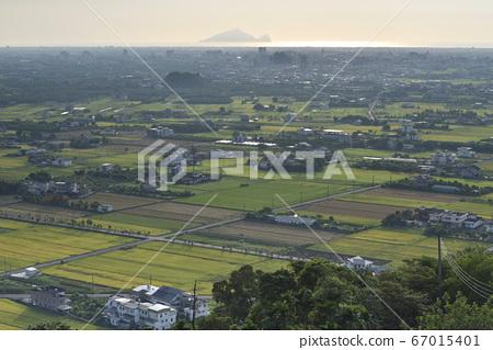 稻田,農作物,房子,屋,稻田拼布,蘭陽平原 67015401