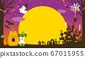 萬聖節派對插圖 67015955