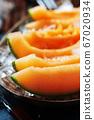 Fresh melon with ice 67020934