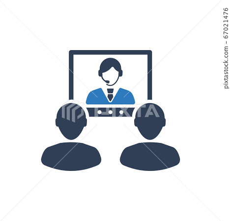 Video Conference Icon 67021476