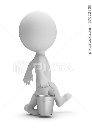 3d small people - bucket 67022509