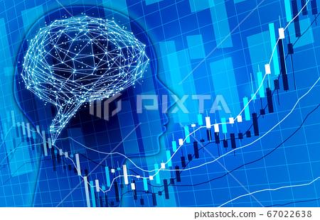 人工智能圖表業務預測圖像背景圖像藍色 67022638