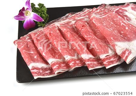火鍋食材,火鍋料,肉,肉片,切,牛肉 67023554