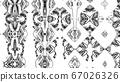 Designer kaleidoscope background with beautiful 67026326