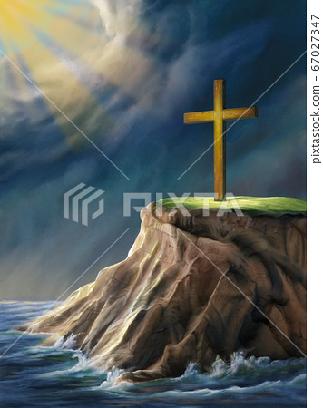 Christian cross 67027347