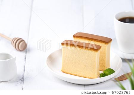 長崎蛋糕 蜂蜜蛋糕 Japanese wagashi castella cake カステラ ケーキ 67028763