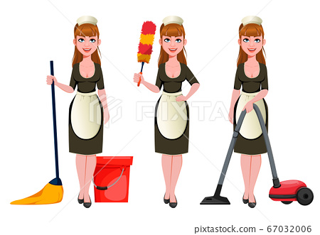 Maid, cleaning lady, cleaning woman 67032006