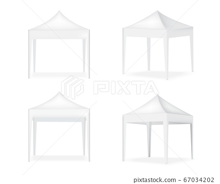 3D Mock up Realistic Tent Display POP Booth for 67034202