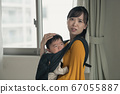 Lonely young mother tired of one-op parenting 67055887