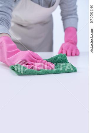 清潔 乾淨 服務 防疫 家事 wearing rubber gloves 家政婦 クリーナー 67059846