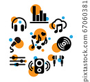 Music Icon set 67060381