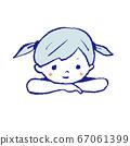 放鬆的女孩 67061399