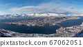 View of Tromso from above 67062051