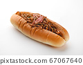 Yakisoba bread 67067640