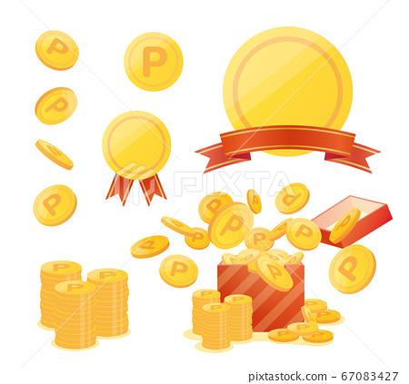 點 硬幣 錢幣 67083427