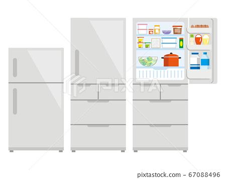 냉장고 일러스트레이션 67088496