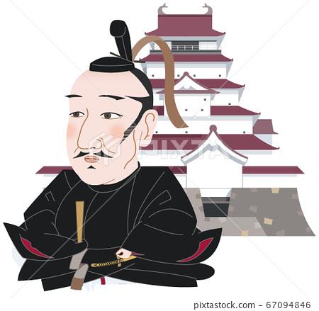 Tsuruga Castle and Gamo Ujisato 67094846