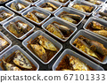 Boiled rastrelliger fish with sauce 67101333