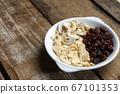 RAW almond slice raisin Cashew nuts 67101353