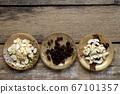 RAW almond slice raisin Cashew nuts 67101357
