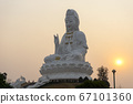 Big Guanyin at Huai Plakang temple in Chiangrai 67101360