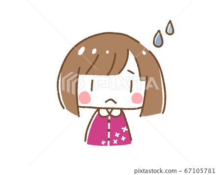 Sad girl 67105781