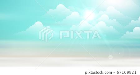 藍藍的天空背景 67109921