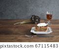 Apple tart and antique table coordination 67115483