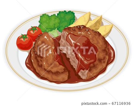漢堡牛排 67116936