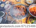 닭숯불구이, 치킨, 닭고기, 외식 67125486