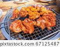 닭숯불구이, 치킨, 닭고기, 외식 67125487