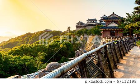 Ancient Matsuyama Castle in Matsuyama, Japan 67132198
