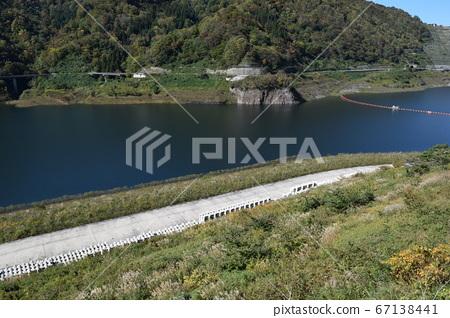 댐 호수 백선 사가 댐 67138441