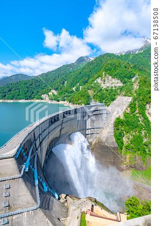 초여름의 구로베 댐 67138508