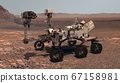Mars. The Perseverance rover deploys its equipment 67158981