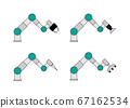 可以執行各種動作的協作機器人 67162534