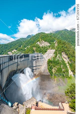 초여름의 구로베 댐 67169356