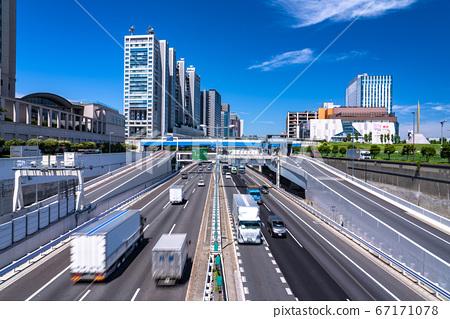 《東京》交通圖,首藤高速公路望安線 67171078