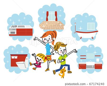 房屋打掃裝修打掃家庭 67174240