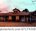 寺田站车站大楼夜景 67174398