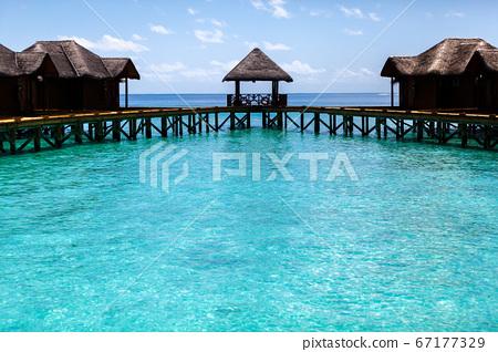 Maldives, water villas 67177329