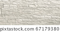 Stone wall surface background. Texture of grey tiles 67179380
