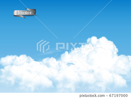 Blue sky background with white  transparent 67197000