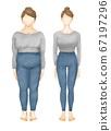 衣服瑜伽服全身女性美 67197296