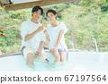 夫婦敬酒與按摩浴缸 67197564