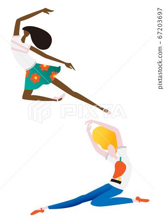 舞蹈 67203697