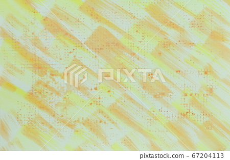노란색 · 오렌지색 계열 추상적 인 배경 소재 수채화 67204113